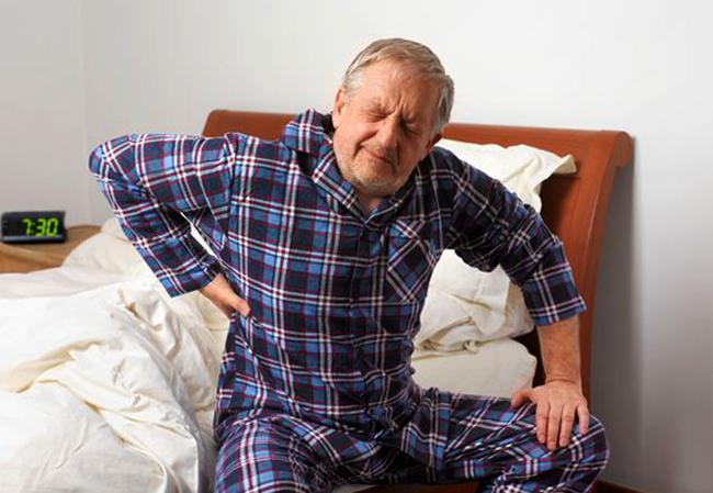 Рак у пожилого человека