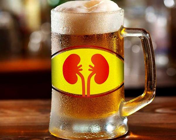 Пиво и почки