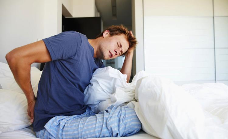 Утренняя боль у мужчины